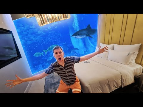 I Stayed In A $15,000 Per Night Hotel Room! (Underwater Suite)