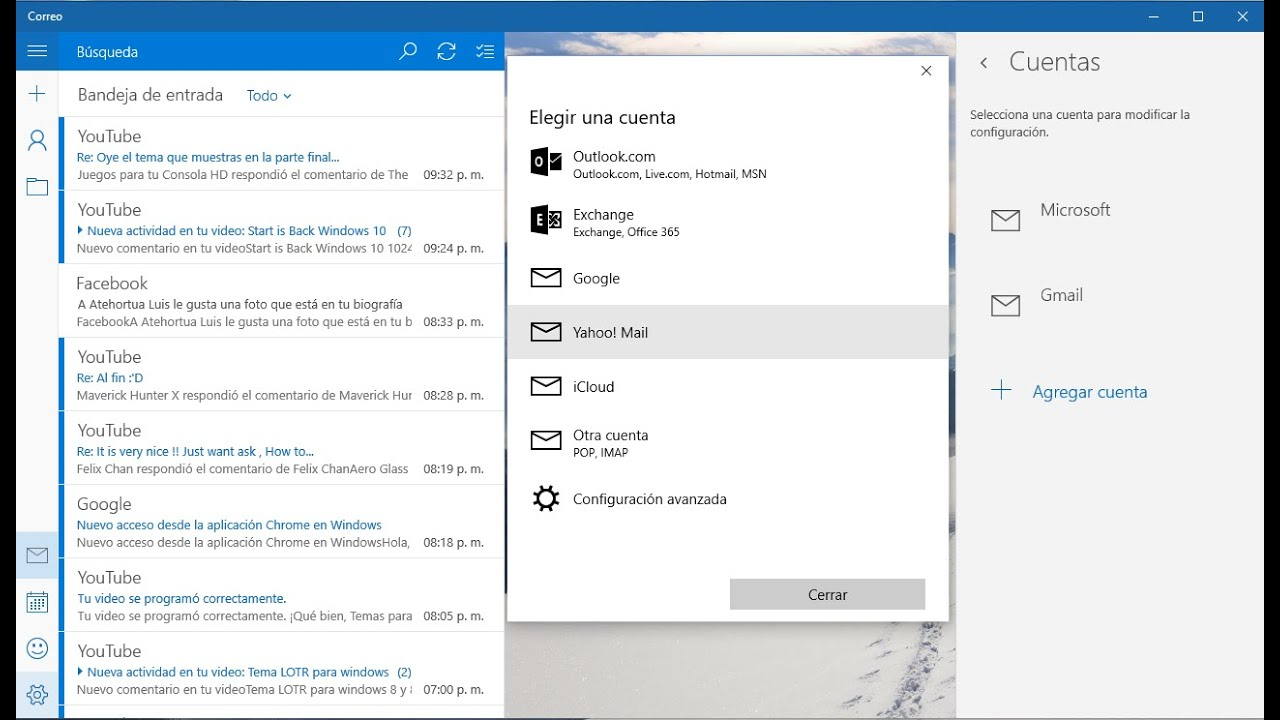 how to stop email pop ups windows 10
