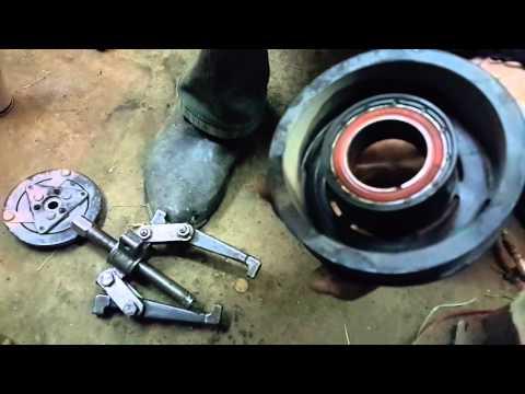 VW Polo замена подшипника кондиционера без снятия компрессора
