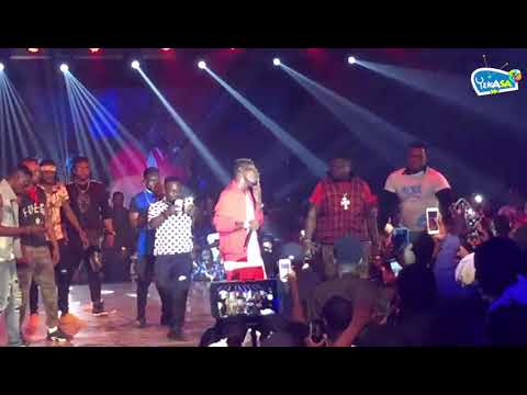 Shatta Wale and WizKid on Ghana Meets Naija show