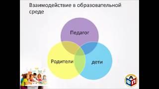 Вебинар «Моделирование образовательной среды для детей раннего возраста (алгоритм для педагога)»