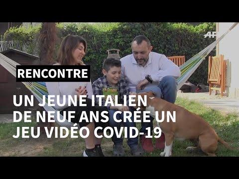 Coronavirus: Un jeune italien de 9 ans crée un jeu vidéo Covid-19 | AFP