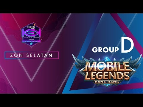 """MLBB CELCOM #XPAXKEK SEM 2 Group D -  K'Esport [KUIM] vs UTEM KNIGHTS  [UTeM]"""