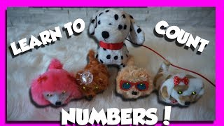 🤡🤡Kids Learning Video  Learning Numbers  Learn How to Count with Toy Puppies   Baby Shark Song🤡🤡