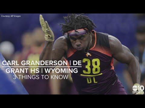 superior quality b19fa 6ece0 Carl Granderson – NFL draft 2019 prospect – DE
