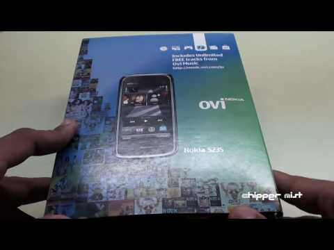 Unboxing Nokia 5235 with Ovi Music Unlimited (HD) 720p