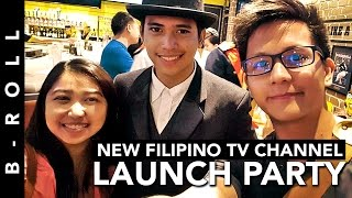 New Filipino TV Channel Launch Party • B-Roll 52 • Makati, Philippines