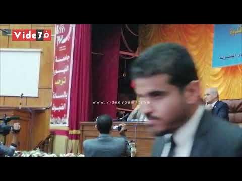 مفتي الجمهورية من الفيوم : علي الشاب أن  يهدي خطيبته وزوجته عروسة المولد والحلوى وكل مايسعد قلبها