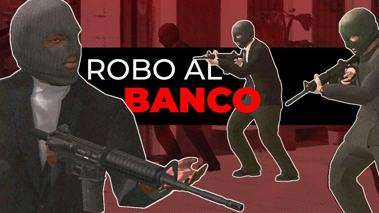 ROBO AL BANCO | GTA San Andreas Loquendo