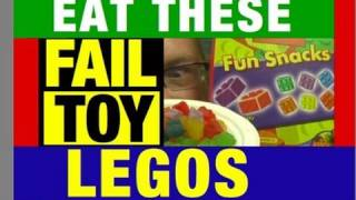 """Lego """"Epic Fail"""" Fun Snacks Funny Review Video by Mike Mozart of JeepersMedia"""