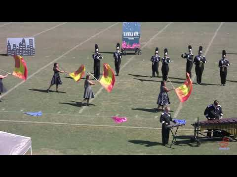 East Duplin High School Marching Panthers at White Oak 10/12/2019