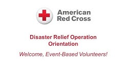 Disaster Relief Operation Orientation for Event-Based Volunteers