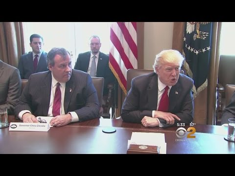 Christie Visits White House As Senate Intel Panel Set To Dig Into Russian Interference