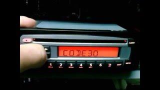 Digitando código ( code)  Radio Cd Mp3 Original Fiat Uno Palio Fiorino Strada Siena Doblo outros