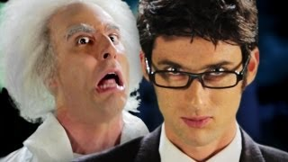 Doc Brown vs Doctor Who. Epic Rap Battles of History