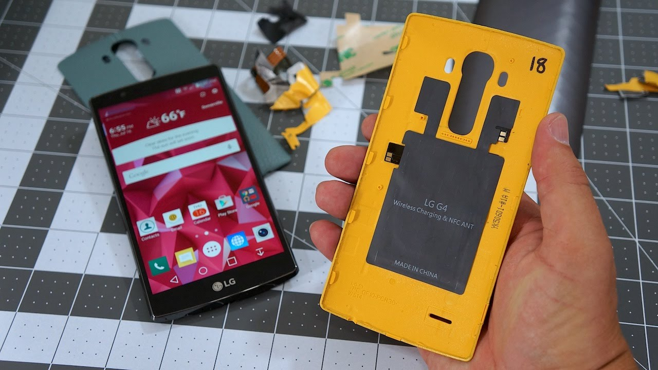 LG G4 Wireless Charging HOW-TO: 10 Minutes, $10 | Pocketnow