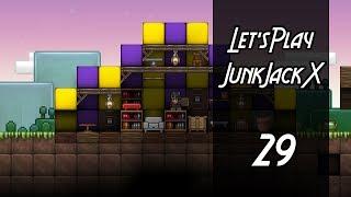 Junk Jack X | Let's Play | Episode: 29 Furniture Tent & Pumpkin Pie!