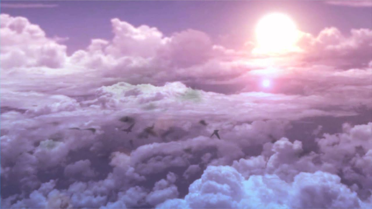 Fluffy And Cute Wallpapers Footage Background Pink Clouds Youtube