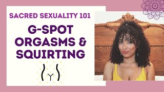 How to give her  G-SPOT ORGASMS and make her SQUIRT