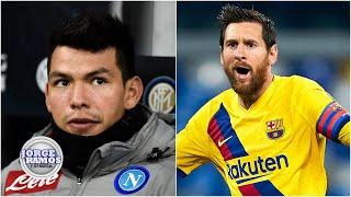Gambar cover Napoli vs Barcelona no era un juego Chucky Lozano contra Messi: Del Valle | Jorge Ramos y Su Banda