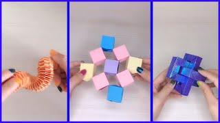 gấp đồ chơi bằng giấy thư giãn - happy origami #115