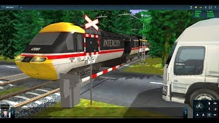 My New BR Class 43 Horn For Trainz / James Hits Car At Level Crossing