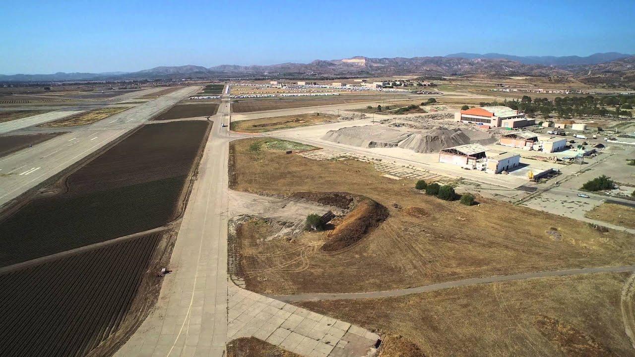 El Toro Marine Base >> MCAS El Toro Runway 34 Right - YouTube