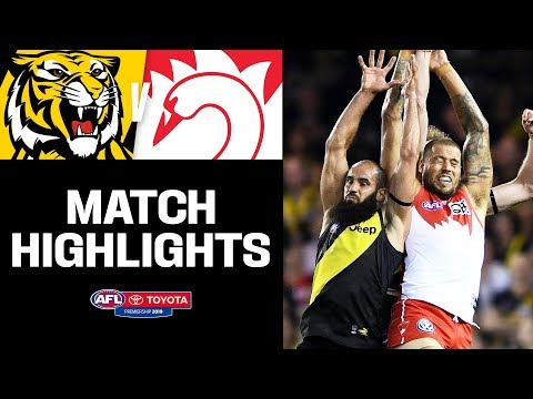 Buddy makes history in tense clash | Richmond v Sydney Highlights | Round 5, 2019 | AFL