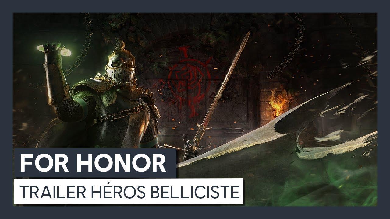 For Honor : Trailer Héros Belliciste [OFFICIEL] VOSTFR