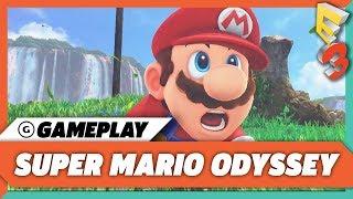 Super Mario Odyssey Gameplay Demo | E3 2017 Nintendo Treehouse