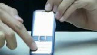 Nokia 7310 Supernova Video Review
