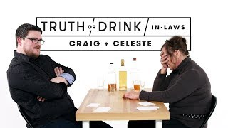 In-Laws Play Truth or Drink (Craig & Celeste) | Truth or Drink | Cut