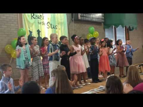 Graduation from Riverbank Charter School of Excellence 2017