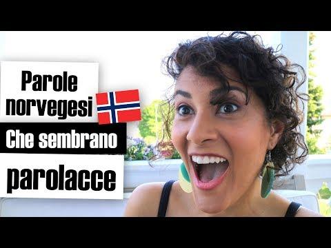 Parole norvegesi che in italiano sembrano parolacce || IaraHeide in Norvegia