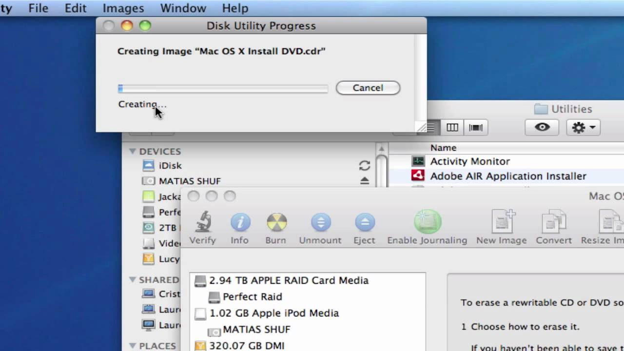 Copy DVD or CD on Mac Using Disk Utility for free - YouTube Copy DVD or CD on Mac Using Disk Utility for free