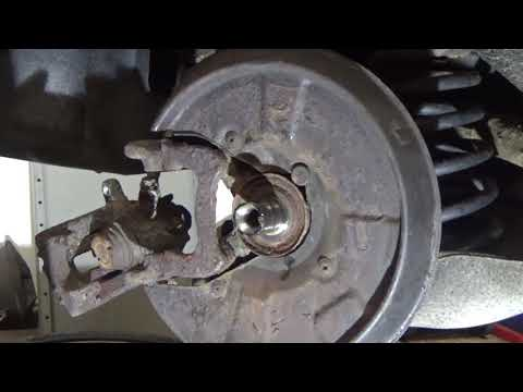How to replace Rear wheel bearing – AUDI  A4