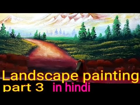 Landscape senary painting part 3 || watercolour painting for beginners