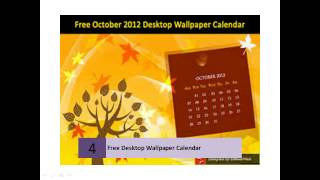 Exciting Collection of Free Desktop Wallpaper Calendar