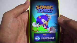 Test Game Sonic Dash Lumia Windows Phone 8