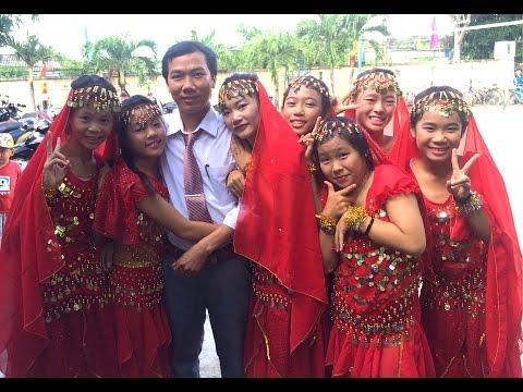 Múa Alibaba ( 8A - Trường THCS và THPT Chu Văn An - Phú Yên)
