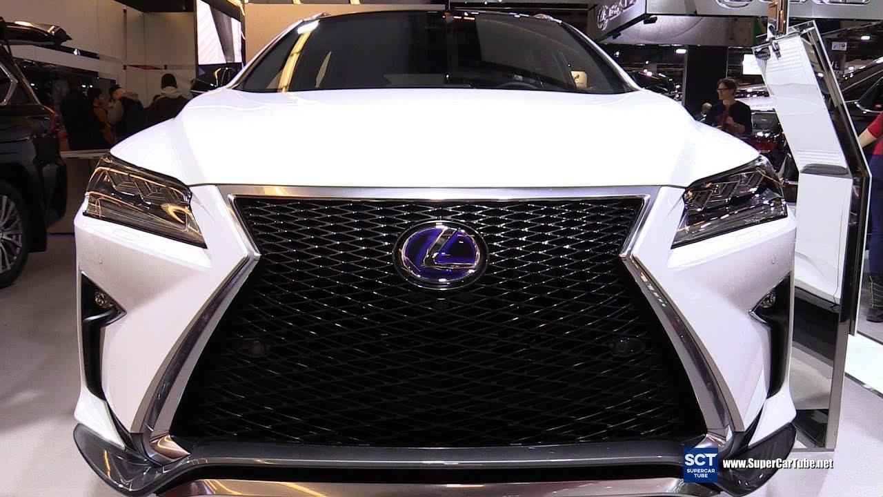 2016 Lexus RX 450H FSport Exterior and Interior Walkaround