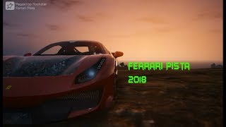 GTA 5 Тест-Драйв и Обзор Автомобиля Ferrari Pista 2018
