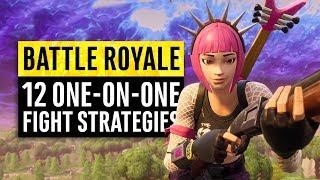 Fortnite Battle Royale | 12 Combat Strategies for 1 Versus 1 Fights
