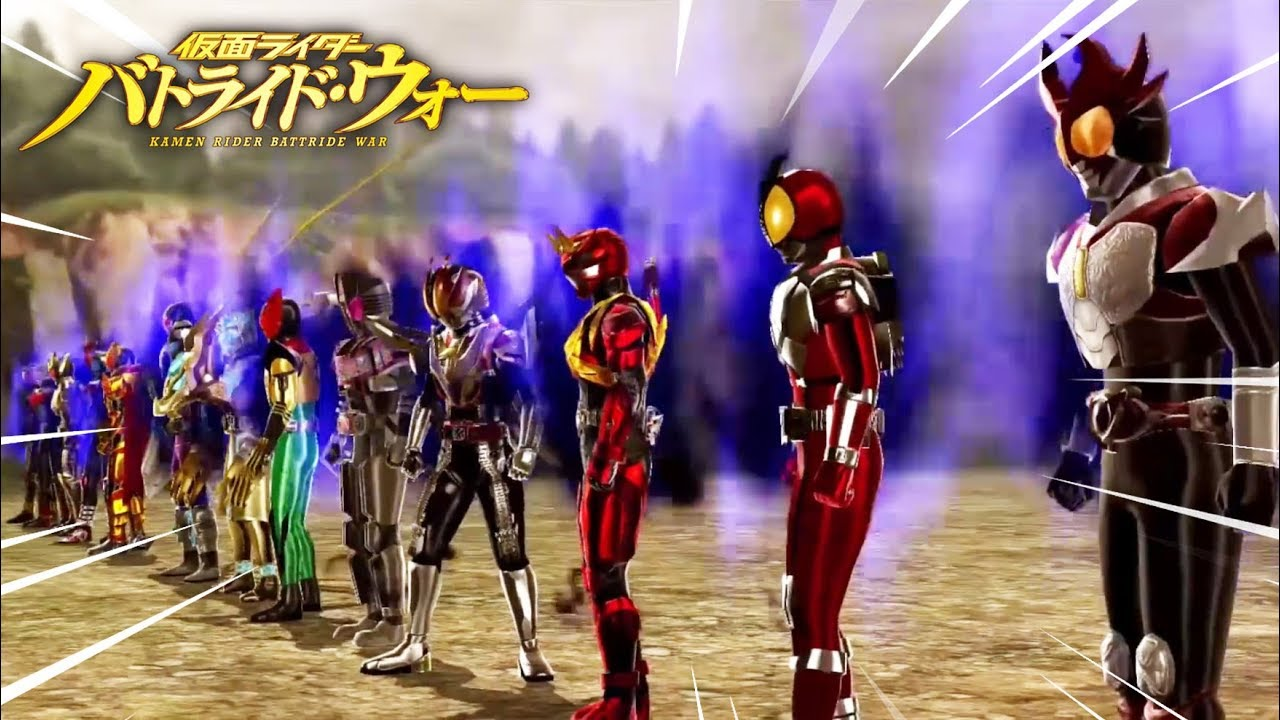 HIỆP SĨ MẶT NẠ OOO : Tổng Hợp Các Kamen Rider Đại Chiến - SIÊU NHÂN ĐỒNG XU | KR Battride War II