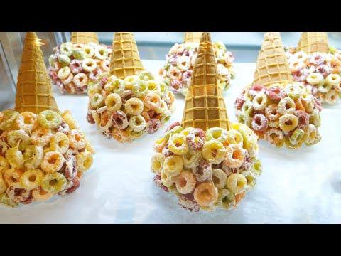 비주얼 깡패!! SNS 장악한 아이스크림 , 에맥앤볼리오스 - 신세계 센텀시티 / SNS Star , Emack & Bolios - Korean Street Food