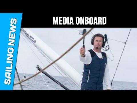 Gitana Sailing Team - Media onboard