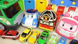 Robcar Poli Friends and Carbot Toys Play | Car Toys For Kids