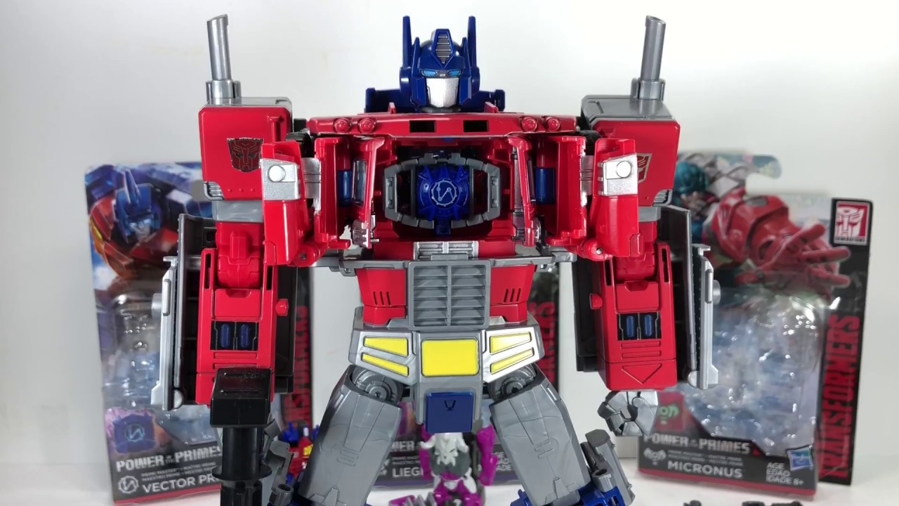 Metalhawk Master Transformers Generations Power of the Primes Vector Prime