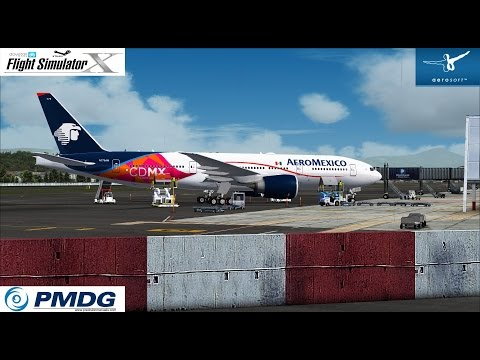 FSX:SE ★ PMDG 777 ★ Landing Approaching Quito ★