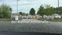 So finden Sie den IHK Parkplatz Neubrandenburg